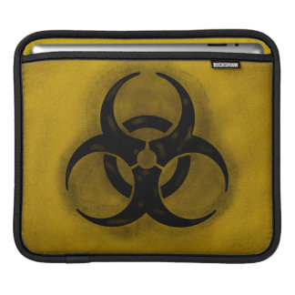 Zombie Biohazard iPad Sleeve