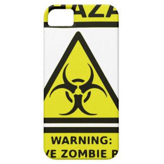 Zombie Biohazard Sign iPhone 5 Cases