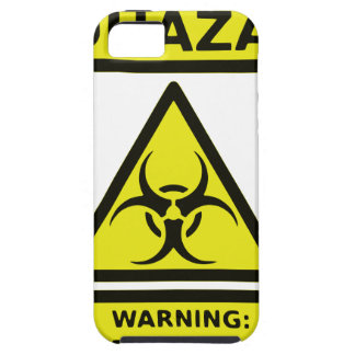 Zombie Biohazard Sign iPhone 5 Cover