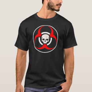 Zombie BioHazard with Skull T-Shirt