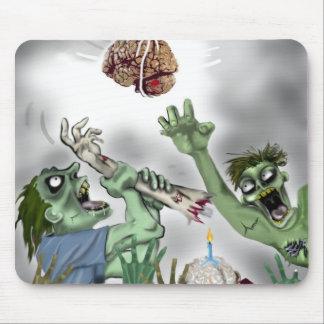 zombie birthday pinata mouse pad