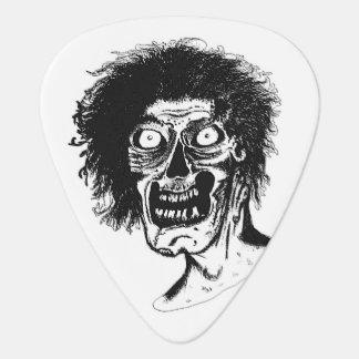 ZOMBIE- Black & White Guitar Pick