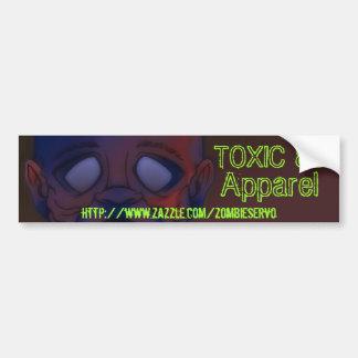 zombie board 2, http://www.zazzle.com/zombieser... bumper sticker
