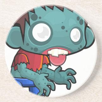Zombie Boy Comic Coaster