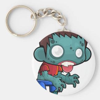 Zombie Boy Comic Keychain