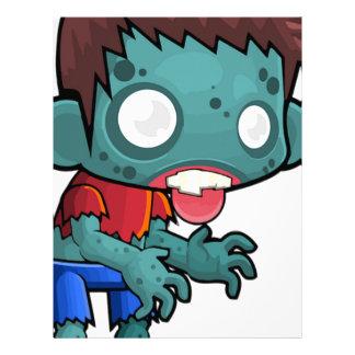 Zombie Boy Comic Letterhead
