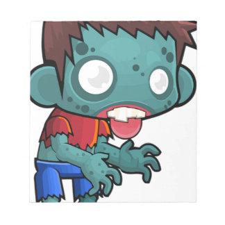 Zombie Boy Comic Notepad