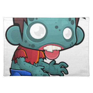 Zombie Boy Comic Placemat