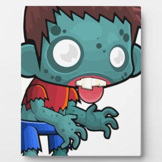 Zombie Boy Comic Plaque