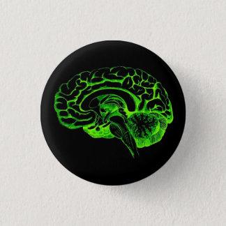 Zombie Brain 1 Inch Round Button