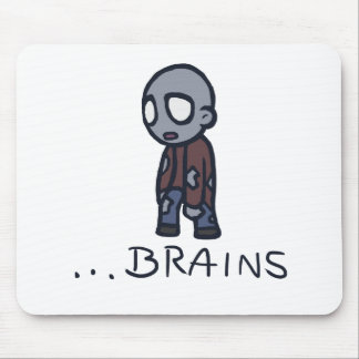 Zombie Brains Mousepad