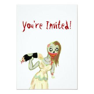 Zombie Bride Invitations