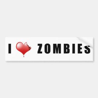 Zombie BumperSticker Bumper Sticker