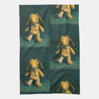 Zombie Bunny Tea Towel