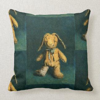 Zombie Bunny Throw Pillow