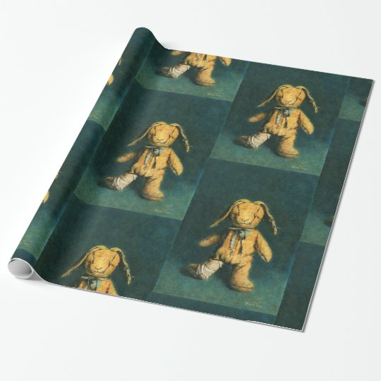 Zombie Bunny Wrapping Paper