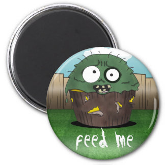 Zombie Cake - Feed Me Magnet