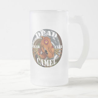 Zombie Camel Frosted Beer Mug