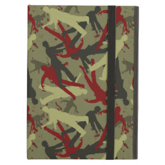 Zombie Camo Pattern Case For iPad Air