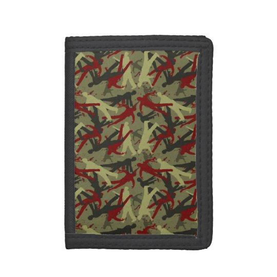Zombie Camo Tri-fold Wallet