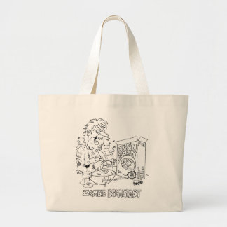 Zombie Cartoon Tote Bag
