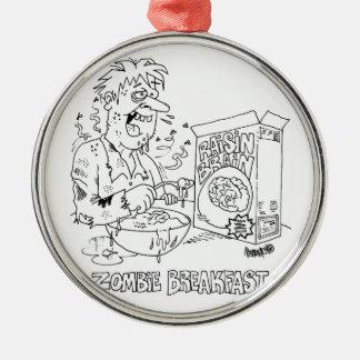 zombie cartoons ceramic ornament