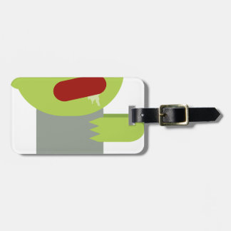 Zombie Chase Luggage Tag