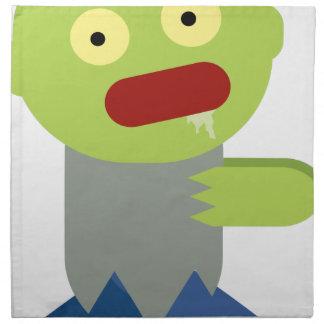 Zombie Chase Napkin