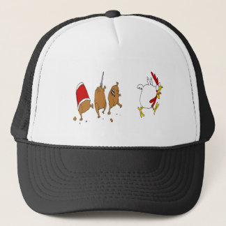 zombie chicken hat