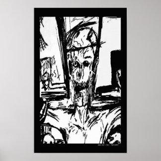 Zombie Christ Print