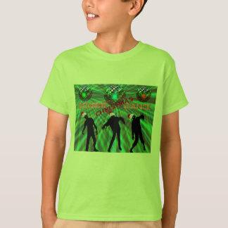 Zombie Christmas Disco Dance T-Shirt