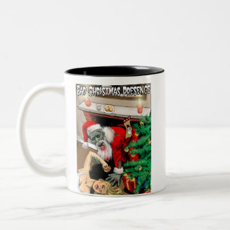 Zombie Christmas Horror Mug