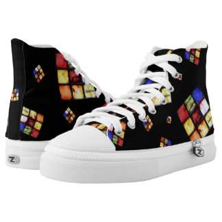Zombie Cool Cube Black Hightops High Tops