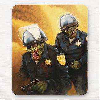 Zombie Cops Mouse Pad