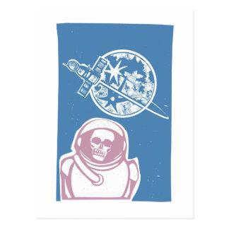 Zombie Cosmonaut Postcard