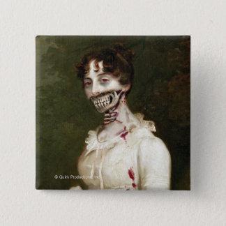Zombie Cover 2 Inch Square Button