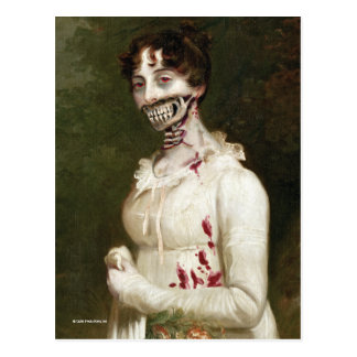 Zombie Cover Postcard