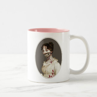 Zombie Cover Two-Tone Coffee Mug