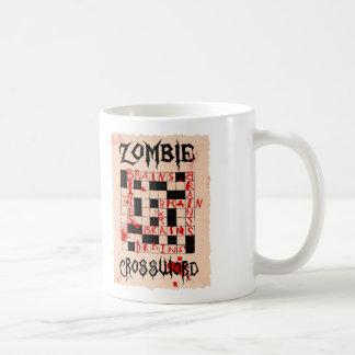 Zombie Crossword Mug