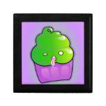 Zombie Cupcake Trinket Box