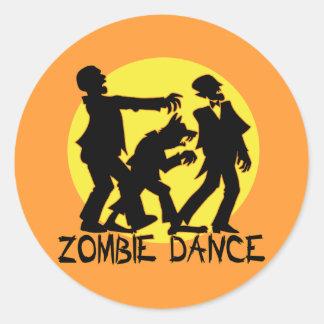 Zombie Dance Stickers/Envelope Seals