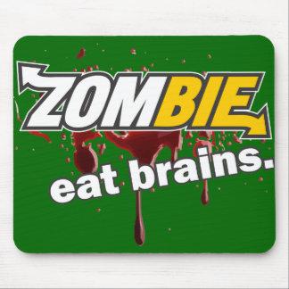 Zombie! Eat brains! Mouse Pad