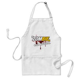 Zombie! Eat brains! Standard Apron