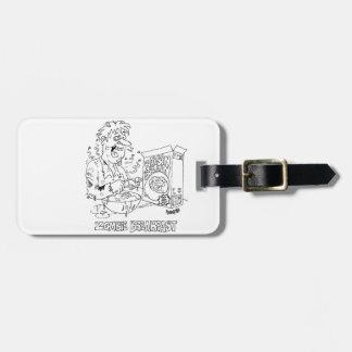 Zombie Eats Raisin Brain Cereal For Breakfast Luggage Tag
