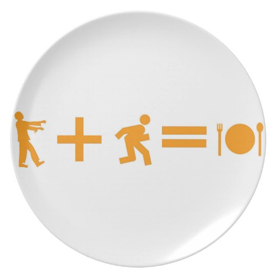 Zombie Equation Plate