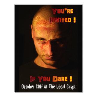 Zombie Event Invitation Custom Flyer