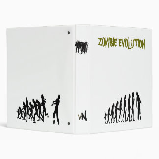 zombie evolution 3 ring binders