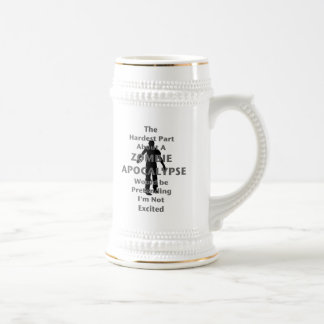Zombie Excited Beer Stein