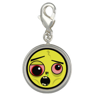 Zombie Face Charm