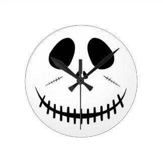 Zombie Face Wall Clocks